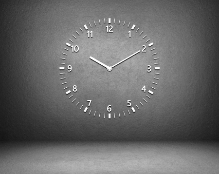 ticking: Clock on the wall in the room