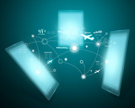 communications equipment: Modern wireless technology and social network