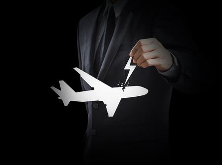 power failure: Passenger air plane crash, hijack