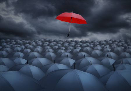 他から顕著な赤い傘とは異なる概念をされています。