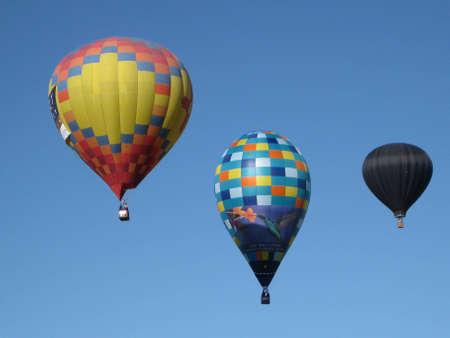 Ballonnen oplopende Redactioneel