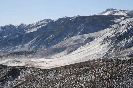 sierra: Sierra Snow Stock Photo