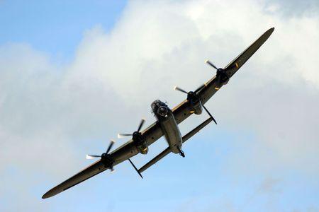 plane during airshow