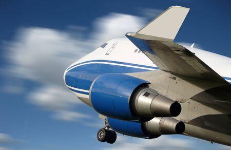 plane taking off Imagens