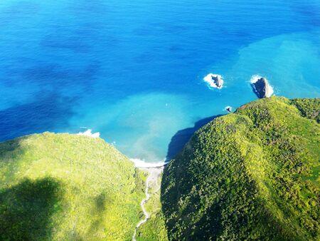scenic shot of a hawaiian valley