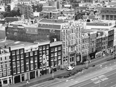 aerial Amsterdam Imagens