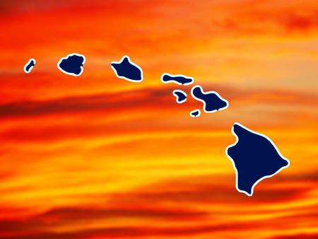hawaiian islands Imagens - 38393641