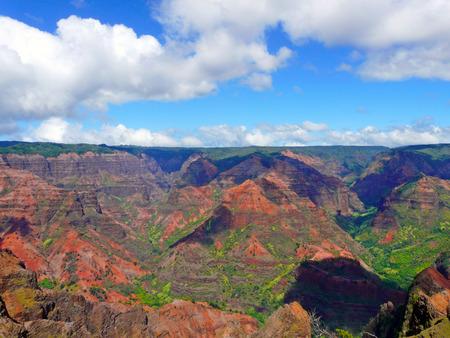 vulcanology: Waimea canyon Kauai