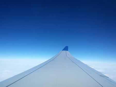 wing view during flight