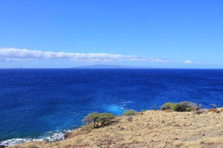 maui coastline on a clear day