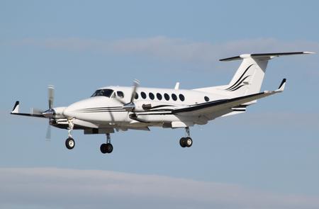 Kleine bizz prop landing