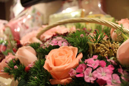 Flower basket photo