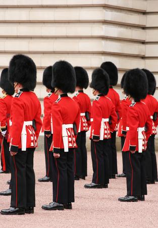 guards in Buckhingam Palace