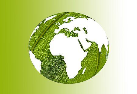 gren world illustration Stock Photo