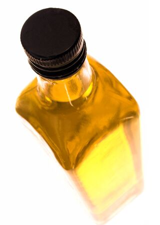 botle: olive oil pictured from top angle