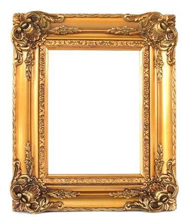 goldy: l'immagine di una cornice d'epoca Archivio Fotografico