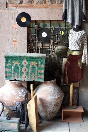 antiques shop Stock Photo