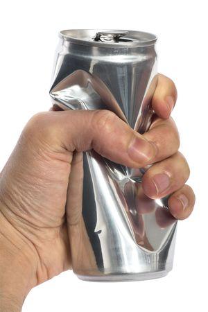 squeezed: apretar el hombre puede tomar una copa