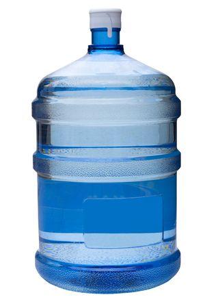 water gallon on white Stock Photo