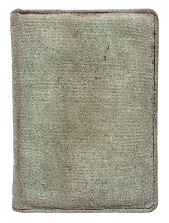 Old book cover is isolated on a white background Stock Photo - 20557934