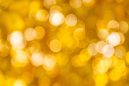 golden bokeh abstract background Archivio Fotografico