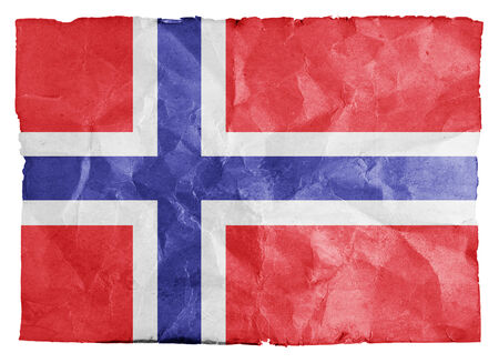 Grunge Norway flag background  photo