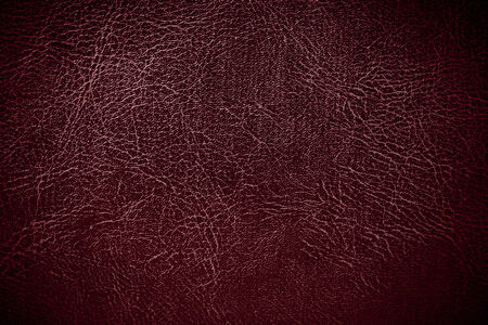 Red leather texture closeup background   Stock Photo