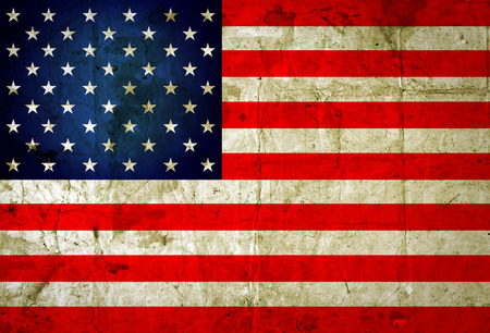 Grunge USA flag background  Zdjęcie Seryjne