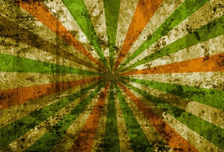 Multicolor Sunbeams grunge background  photo