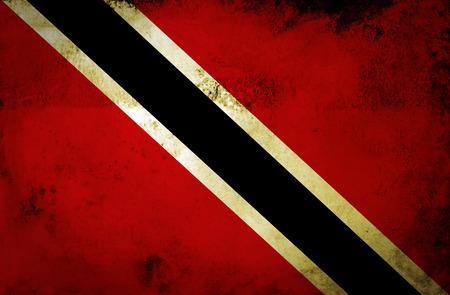 trinidad and tobago: Grunge Trinidad and Tobago Flag  Stock Photo
