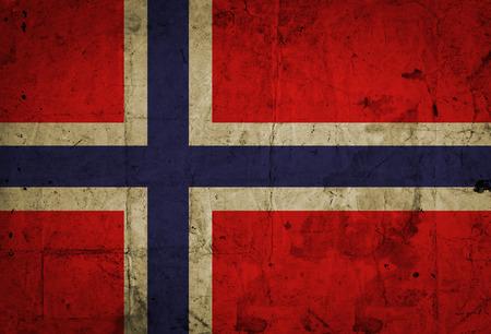 Grunge Norway Flag  photo