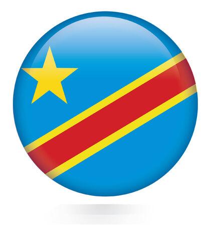 democratic: Democratic Republic of the Congo button