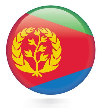 eritrea: Eritrea flag button