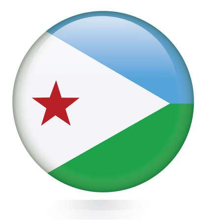 djibouti: Djibouti Flag button