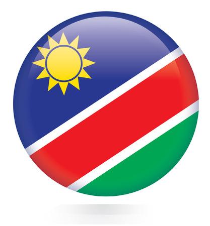 namibia: Namibia flag button