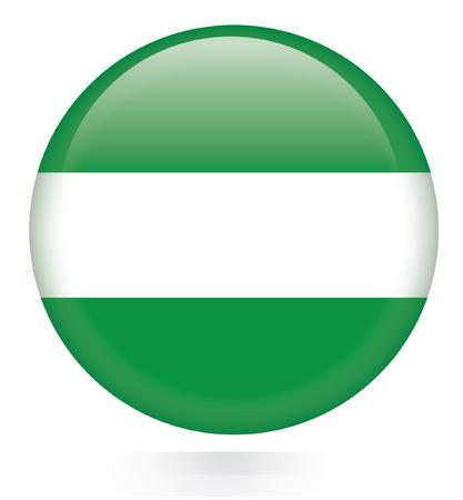 rotterdam: Rotterdam City flag button