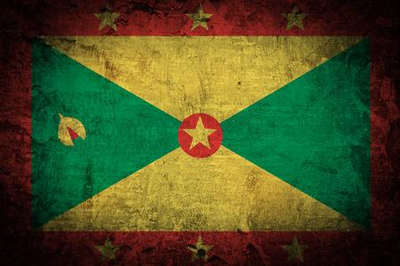 grenada: Grunge Grenada Flag