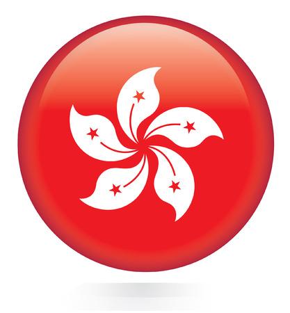 Hong Kong flag button
