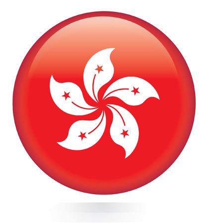hong kong: Hong Kong flag button