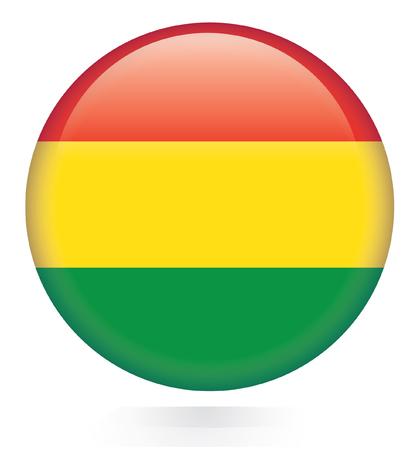 bandera bolivia: Bot�n del indicador de Bolivia
