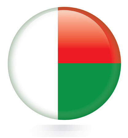 This Is Madagascar Flag Illustration Computer Generated Royalty - Madagascar flag