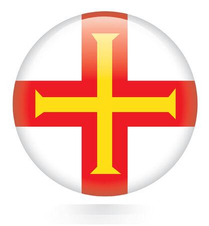 guernsey: Guernsey flag button