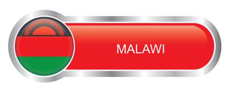 malawi: Malawi Flag glossy banner
