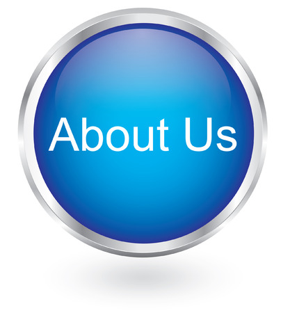 about us: About us icon glossy button