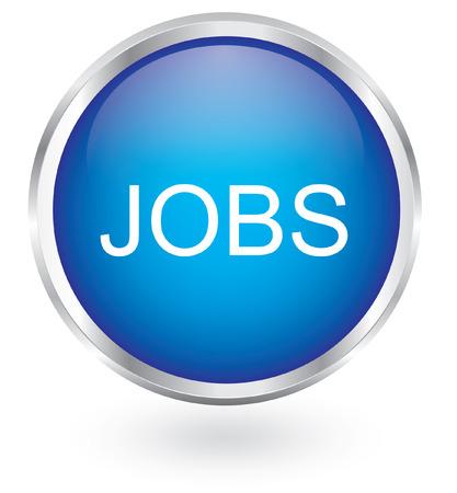 jobs: Jobs icon glossy button