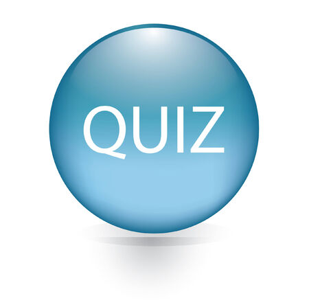 kwis: Quiz woord blauwe knop