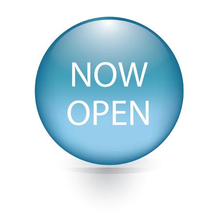 Now open word blue button Vector