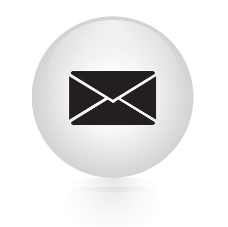 email button web icon  Vector
