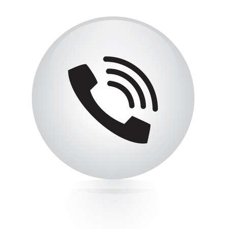 phone button: phone button web icon