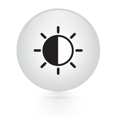 weather button web icon